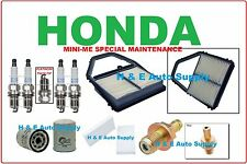 2001-05 CIVIC 1.7L TUNE UP KITS: SPARK PLUGS PCV VALVE; AIR, CABIN, & OIL FILTER