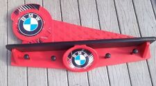 BMW Coat Hanger Hat Shelf Display Room garage Man Cave