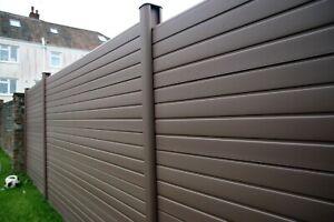 Composite Fence Panels - Fencing PVC - Posts - Low Maintenance - Gravel Board