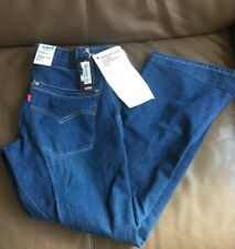 NEW women's LEVI'S ENGINEERED TWISTED Blue Bootcut Flare Jeans W32 L30