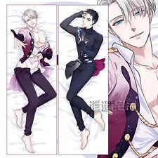 "59"" Anime YURI!!! on ICE Victor Nikiforov Dakimakura Hug Body Pillow Cover Case"