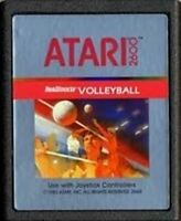 Real Sports Volleyball - Original Atari 2600 Game Authentic