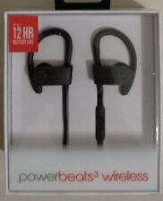 GENUINE Beats by Dr Dre Powerbeats 3 Wireless Earphones (Black) Australian Stock