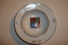 New listing Ashtray Uss Calvert Apa - 32 6 Inch Handpainted