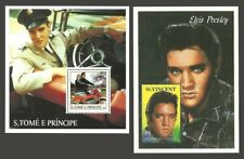 POP ROCK MUSIC ELVIS PRESLEY FILMS MUSIC MOTORBIKES CARS SETS & M/SHEETS MNH