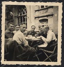 Trier-Casino-Lager-1939/40-Wehrmacht-Luftwaffe-Flugabwehr-Beobachter-Personal-7