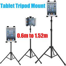 """Adjustable Tripod Stand Holder Bracket For iPad 1 2 3 4 7""""-12"""" Tablet Mount"""