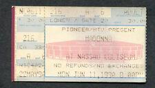 Madonna 1990 Blond Ambition World Tour Concert Ticket Stub Uniondale NY