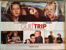 Cinema Poster: GUILT TRIP, THE 2013 (Quad) Barbra Streisand Seth Rogen