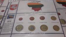 PAGINA AGGIORNAMENTO PER SERIE MONETE EURO LITUANIA 2015 art. 91/15L