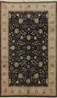 Wool/ Silk Floral Traditional Hand-knotted Chinese Area Rug Classic 6x9 Carpet