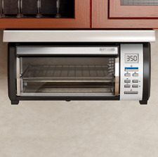 Toaster Oven Space Saver Under Cabinet Black Decker Digital Apartment RV Camper
