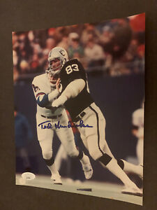 TED HENDRICKS AUTHENTIC AUTOGRAPHED SIGNED 8X10 PHOTO OAKLAND RAIDERS w/JSA