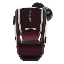 Wireless Bluetooth 4 MIni In-ear Headset Retractable Clip-on Earphone HeadphoneX
