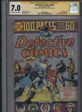 Detective Comics #443 CGC 7.0 SS Walt Simonson MANHUNTER Batman 1974