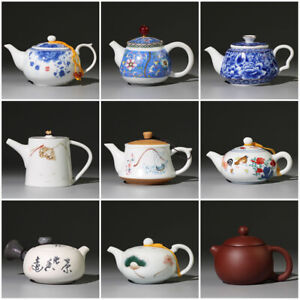 Chinese kungfu tea pot zisha / porcelain pot of tea China pot for tea on sales