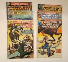 DC COMICS ALL-STAR WESTERN OUTLAW NO. 2,3,4,5 6&7