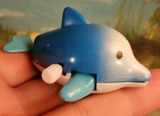 Wind Up Dolphin Toy Collectible New NIP Marine life figure
