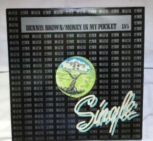 "Dennis Brown. Money In My Pocket. 12"" Single. EX condition."