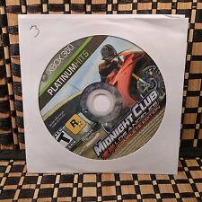 Midnight Club: Los Angeles -- Complete Edition (Microsoft Xbox 360)NO CASE #9870