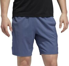 adidas 4KRFT Tech Woven 3 Stripes Mens Training Shorts - Blue