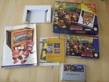 Super Nintendo / SNES - DONKEY KONG COUNTRY 2 Diddy's Kong Quest - LIMITED BOX