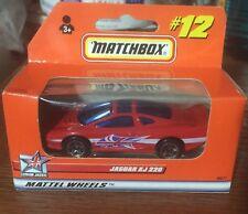Matchbox Jaguar XJ 220 Mattel Wheels #12