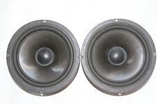 2pcs. AUDAX aérogel Haut-parleurs AP210Z0 200 mm Bass/MI 6Ohm, 1pcs. avec des défauts
