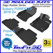 Fits Subaru Forester 2018 - 2020 SK - 3D Moulded Rubber Car Floor Mats