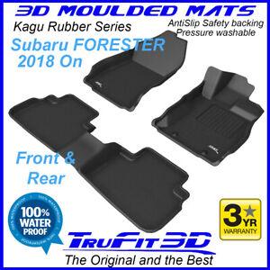 Fits Subaru Forester 2018 - 2021 SK - 3D Moulded Rubber Car Floor Mats