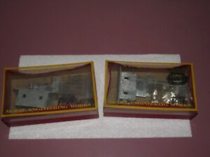 Lot of 2 Model Engineering Works Shortie Caboose Kits