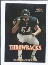 2000 FLEER TRADITION Throwbacks BRIAN URLACHER RC  (BEARS)