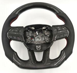 Carbon Lenkrad für Dodge Challenger Carbon-leder Carbonfiber steering wheel