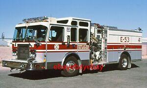 Fire Apparatus Slide, Engine 53, North Las Vegas / NV, 1996 Spartan / 3-D