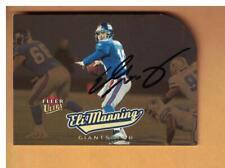 Eli Manning AUTOGRAPHED 2005 FLEER ULTRA GOLD FOOTBALL CARD NEW YORK GIANTS
