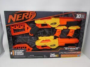 NEW Nerf Alpha Strike Lynx 50-1 & Stinger 50-1 Multi-Pack 26 Bullets