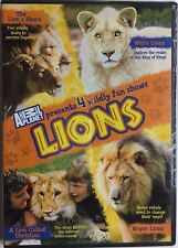 Lions The Lions Share/White Lions/A Lion Called Christian/Rogue Lions DVD NEW