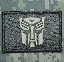 AUTOBOT TRANSFORMERS USA  ARMY ACU LIGHT VELCRO® BRAND FASTENER MORALE PATCH