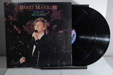 Barry Manilow Live On Broadway Arista 1990 LP