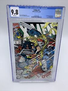X-Men #5 CGC 9.8 2nd Omega Red X-men Movie Jim Lee 1992