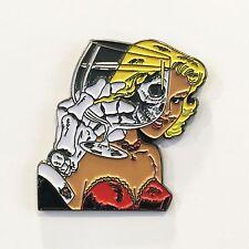 CHAMBER OF CHILLS Metal Enamel Pin Misfits Samhain Danzig 19 punk metallica