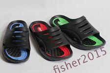 New Men's Rubber Sport Slide Sandals Shoe's *Run a Size Small, read Instructions