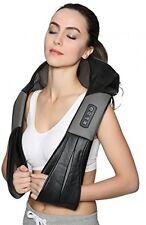 Nekteck Shiatsu Deep Kneading Massage Pillow With Heat, Car/Office Chair Neck,