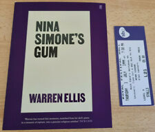Warren Ellis - Nina Simone's Gum: SIGNED First Edition HB NEW with Bookmark