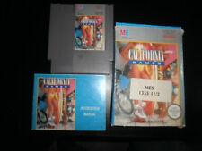 Nintendo NES - california games - 100%  complete