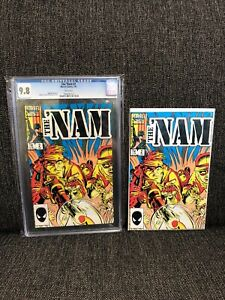 The Nam #2 CGC 9.8 1987 Marvel Comics LOT Vietnam War Doug Murray Michael Golden