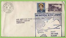 Vietnam 1953 Flight cover, Saigon to Singapore, with flight cachet