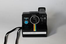 Vintage RARE Polaroid SX-70 OneStep SE Special Edition Black Land Camera