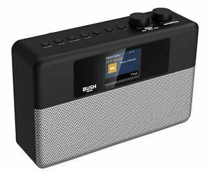 "Bush DAB+ Radio With 2.4"" Colour TFT display - Black 7316900 U"