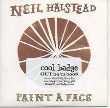 (362C) Neil Halstead, Paint A Face - DJ CD